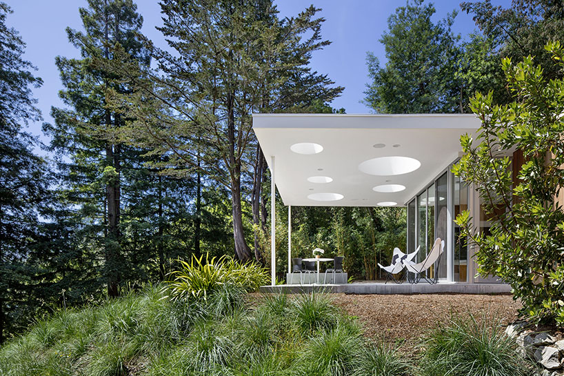 25 of the most beautiful california houses and their stories for Mill valley architects