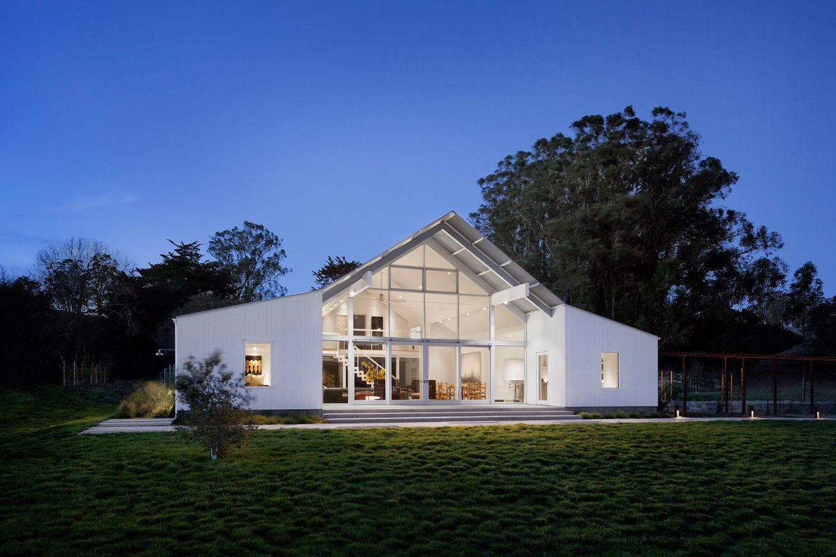 A contemporary ranch. 25 Of The Most Beautiful California Houses And Their Stories