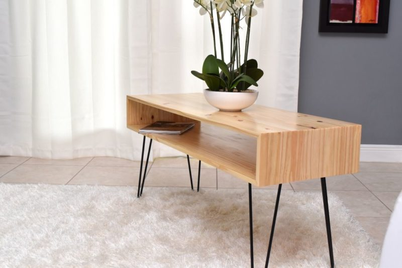 How To Make A Coffee Table With Hairpin Legs