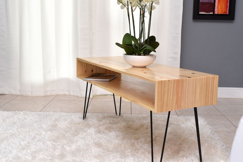 Superieur How To Make A Coffee Table With Hairpin Legs