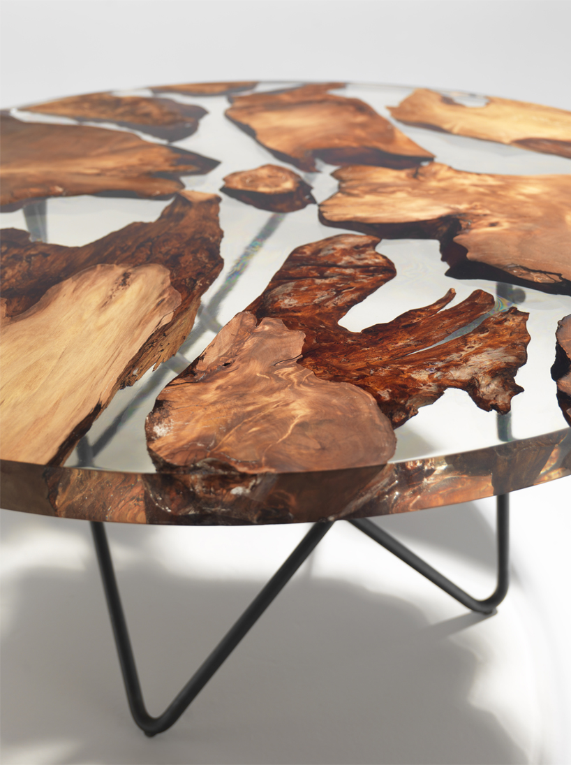 Resin Furniture Forever Encapsulates Beauty In Extraordinary