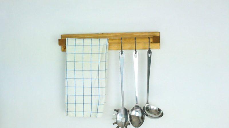 How To Make A Wooden Kitchen Utensil Holder