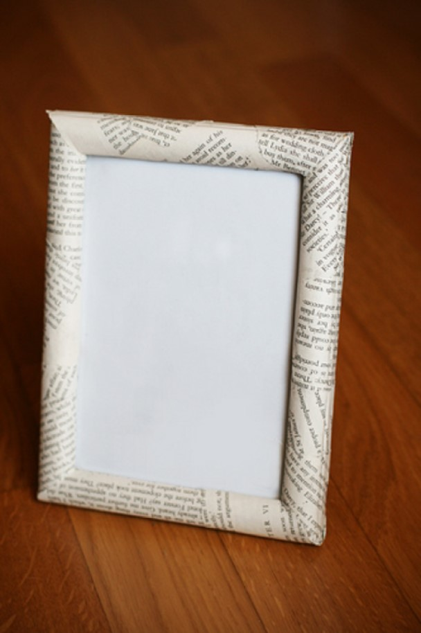 DIY picture frame Book Lovers Frame