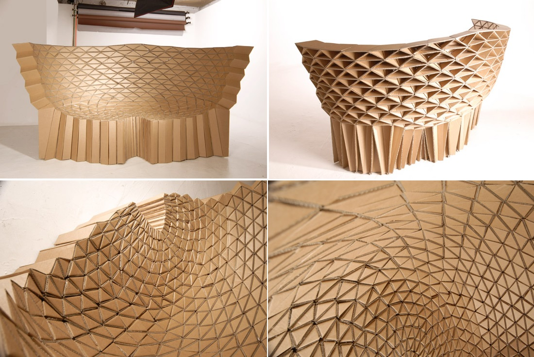 Cardboard Furniture Surprisingly Strong And Unexpectedly