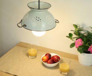 Colander Light Fixture