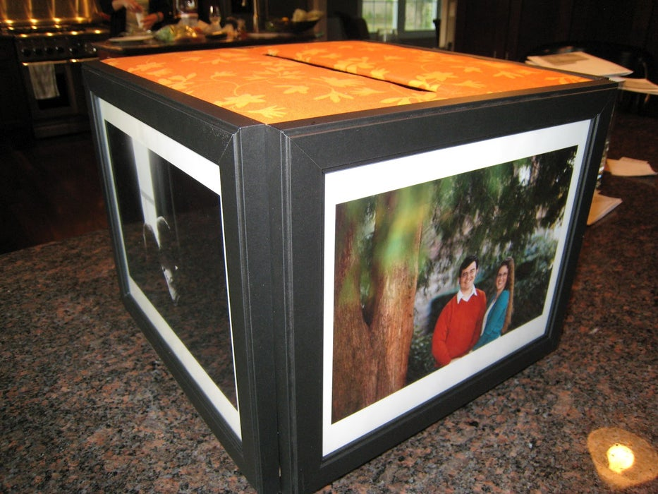 DIY picture frame Collect Letters With Your Photo Frames