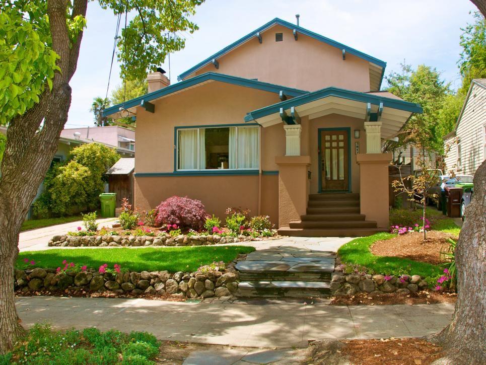 light blue green house paint