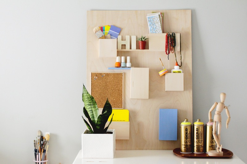 Boost your efficiency at work with these diy desk organizers free up your desk and keep things on the wall solutioingenieria Image collections
