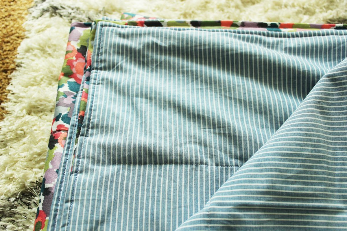 How To Sew A Lightweight Quilt Two Quick And Easy Methods For Summer