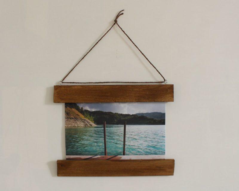 Make a DIY Photo Frame With No Glass