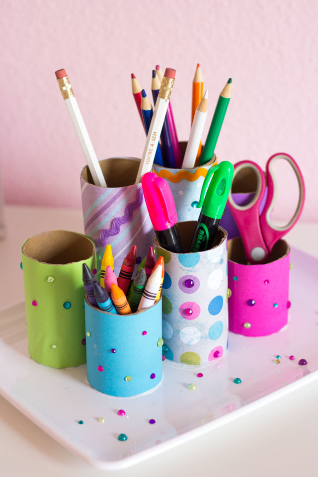 Boost your efficiency at work with these diy desk organizers Diy pencil holder for desk
