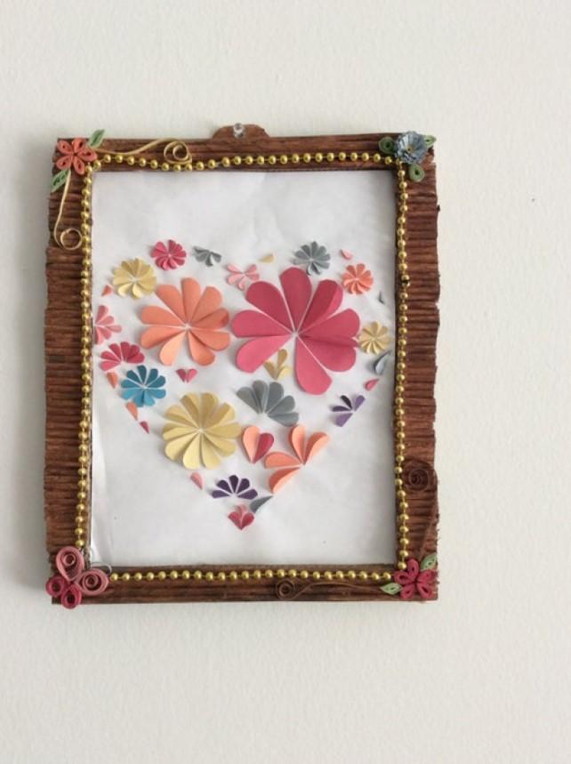 DIY picture frame Decorative Cardboard Frame