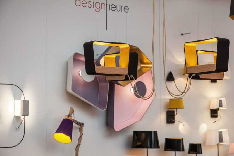 Rectangular Lighting Fixtures Add Geometric Dimension to Decor