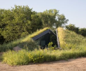 ... Modern Semi Underground Homes That Become One With The Land