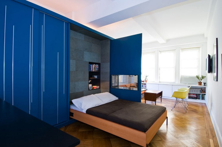 Studio Apartment Murphy Bed space-saving wall beds that made their way into stylish decors