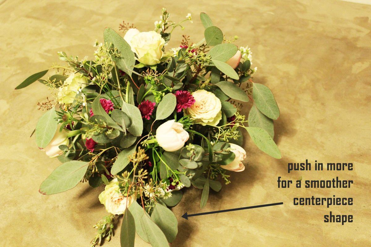 How to Arrange Flowers in Floral Foam