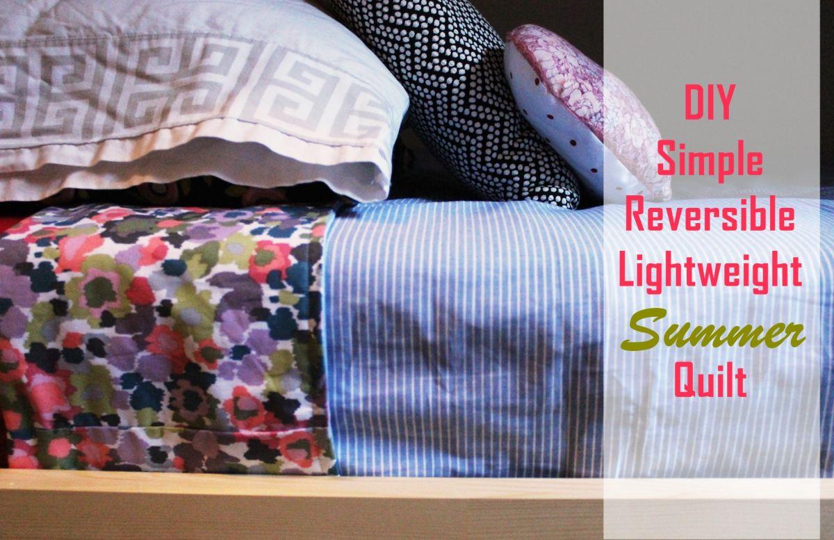 How to Sew a Lightweight Quilt