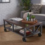 Industrial Faux Coffee Table
