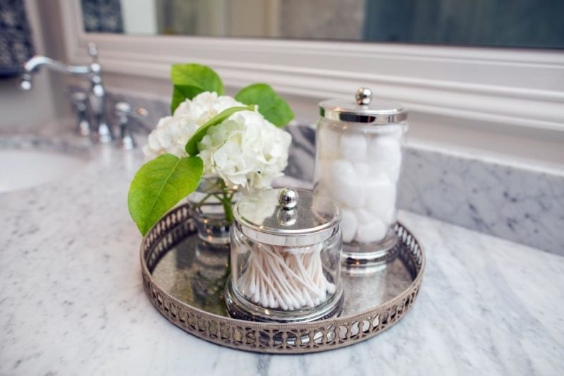 Bathroom Countertop Storage Solutions With Aesthetic Charm