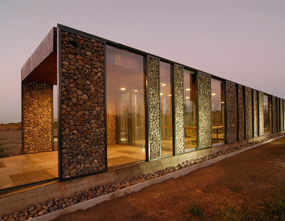 Gabion walls and their role in contemporary architecture Gabion wall design