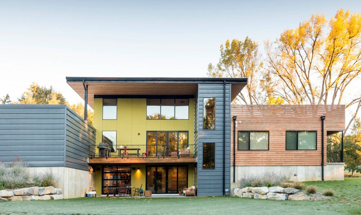 50 house colors to convince you to paint yours - Modern house color schemes exterior ...