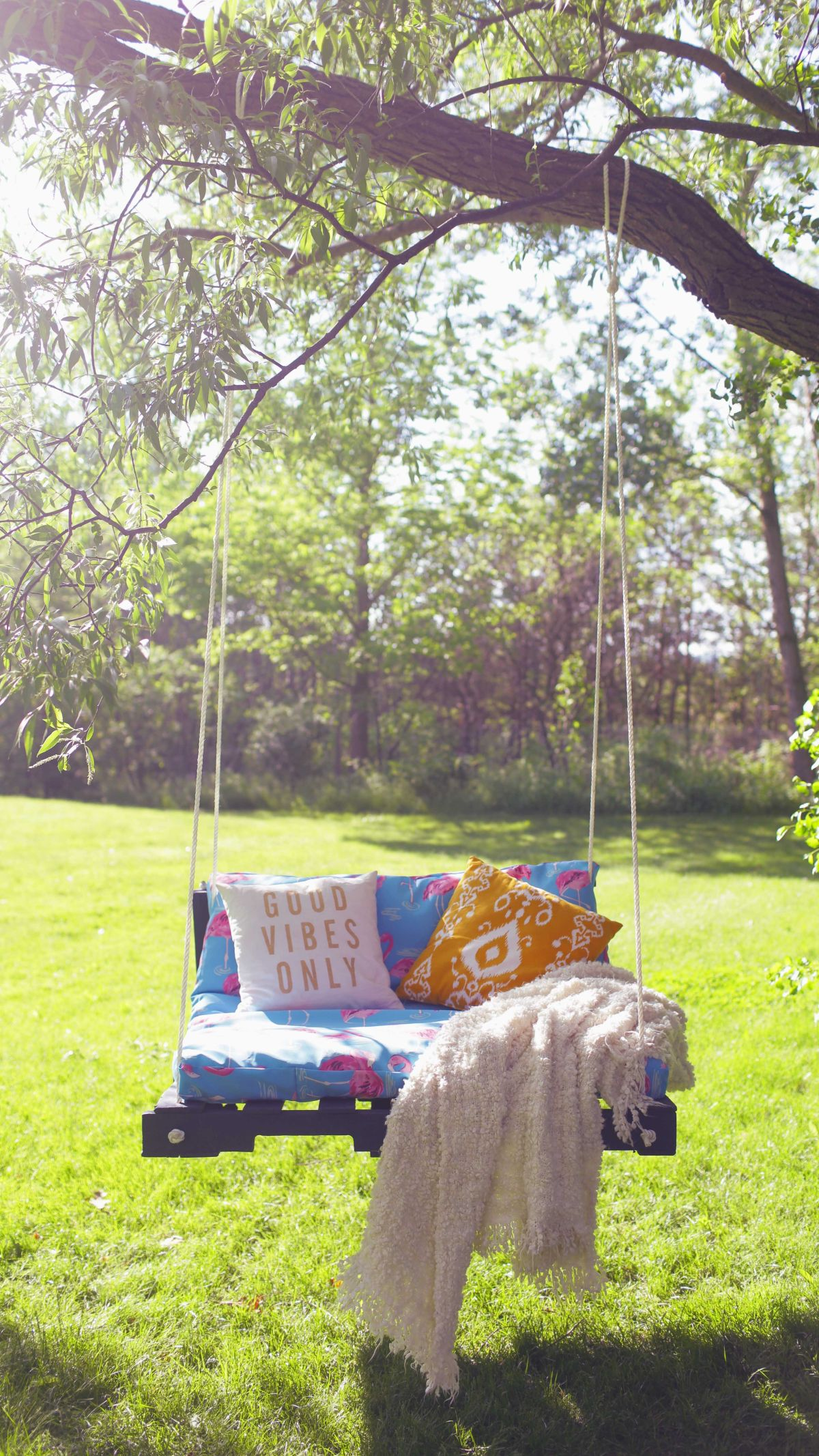 Pallet Swing Ideas The Perfect Summer Diy