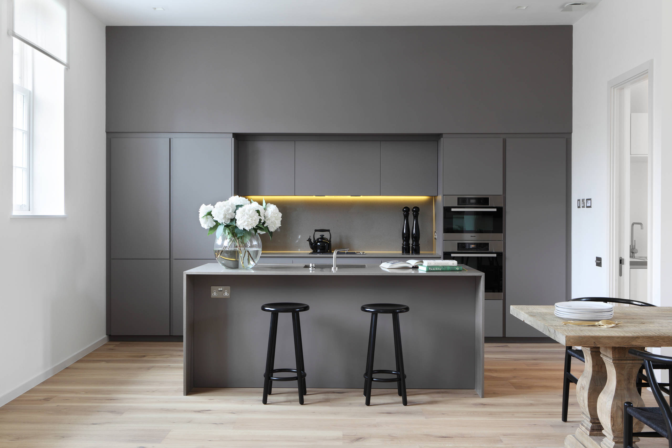 Modern Kitchen Gray Cabinets 100 beautiful kitchens to inspire your kitchen makeover