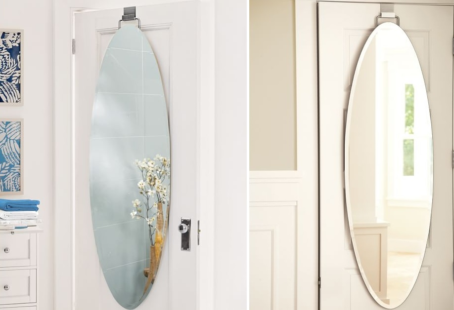 Saving Space And Gaining Style With Over The Door Mirrors