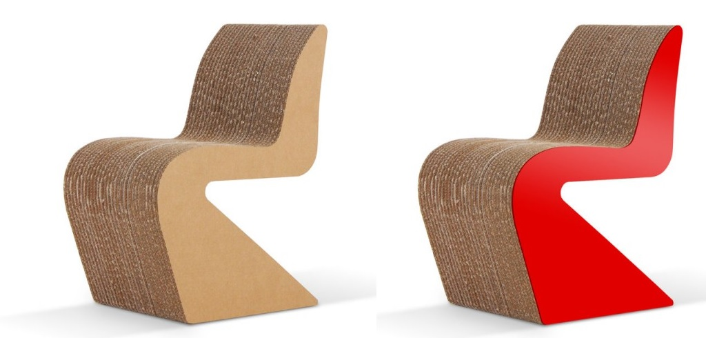Cardboard Furniture Surprisingly Strong And Unexpectedly Stylish