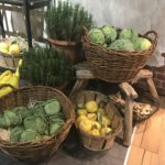 Pantry kitchen wicker baskets storage