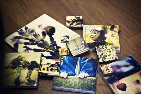 DIY photo frame Photo Frame Tiles