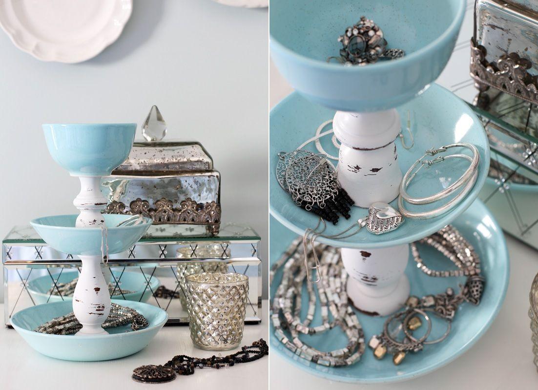 Porcelain jewelry organizer