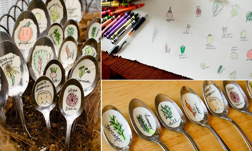 Recycled spoons