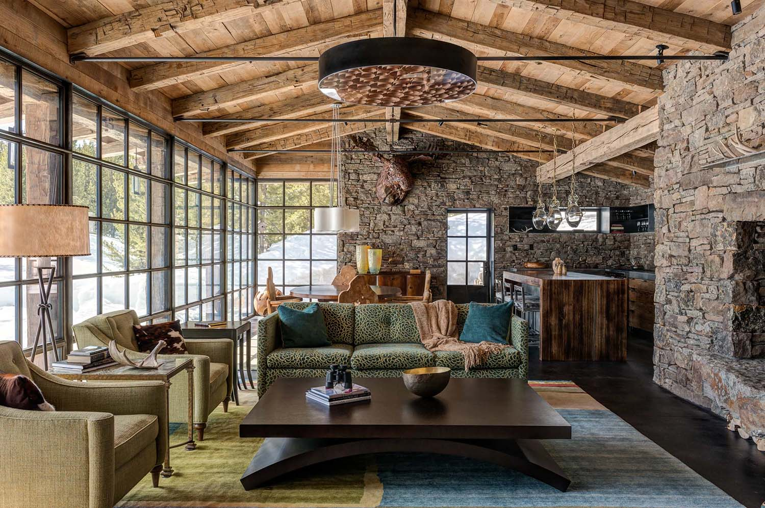 Rustic Home Offices: 15 Rustic Home Decor Ideas For Your Living Room