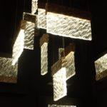 Serip rectangular hanging lamps