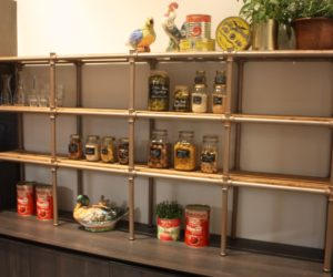 Open Shelving Is A Great Way To Inject Your Personality Into Kitchen Design