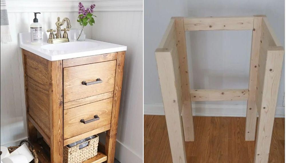 Diy Bathroom Vanity Ideas Perfect For Repurposers
