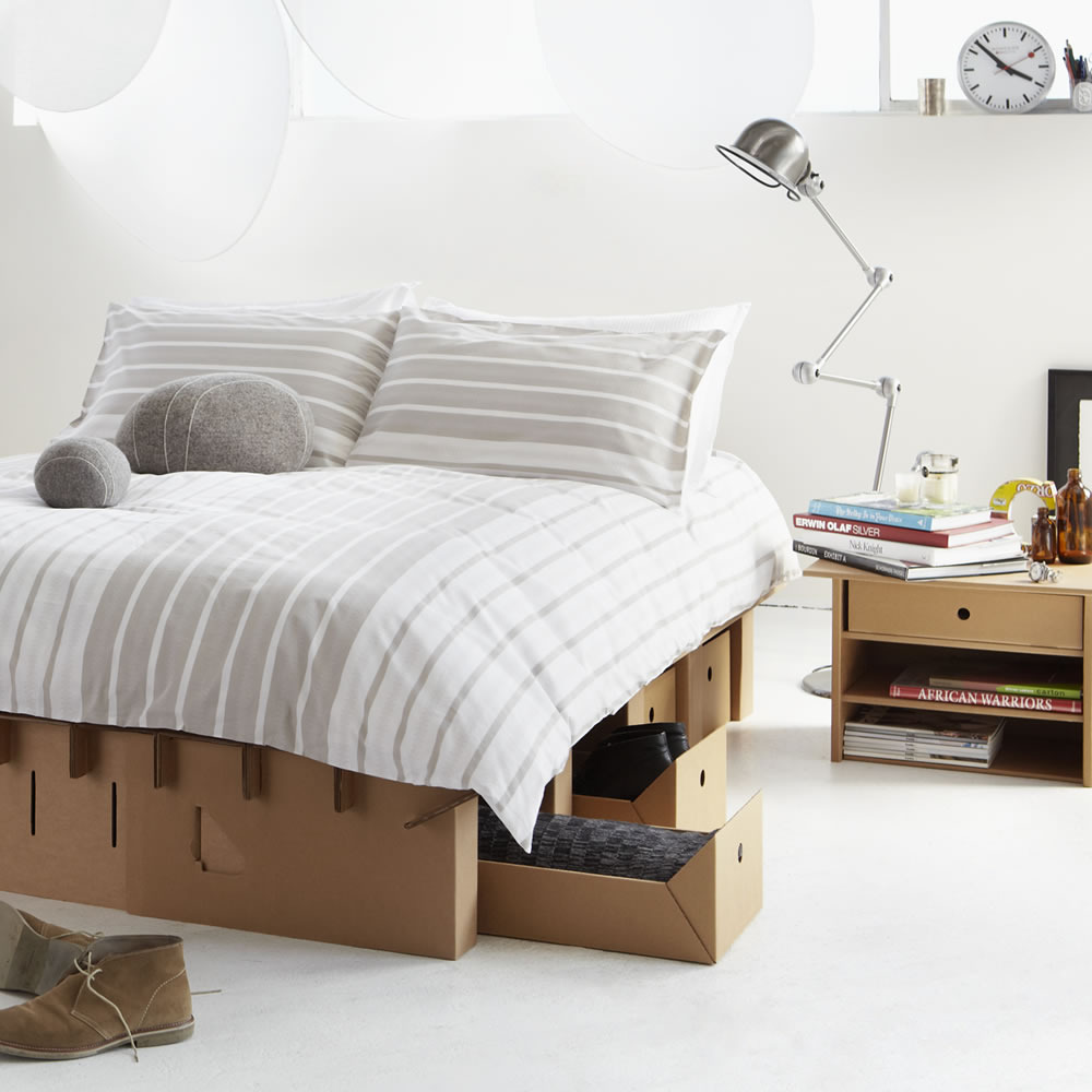 cardboard furniture surprisingly strong and unexpectedly stylish rh homedit com