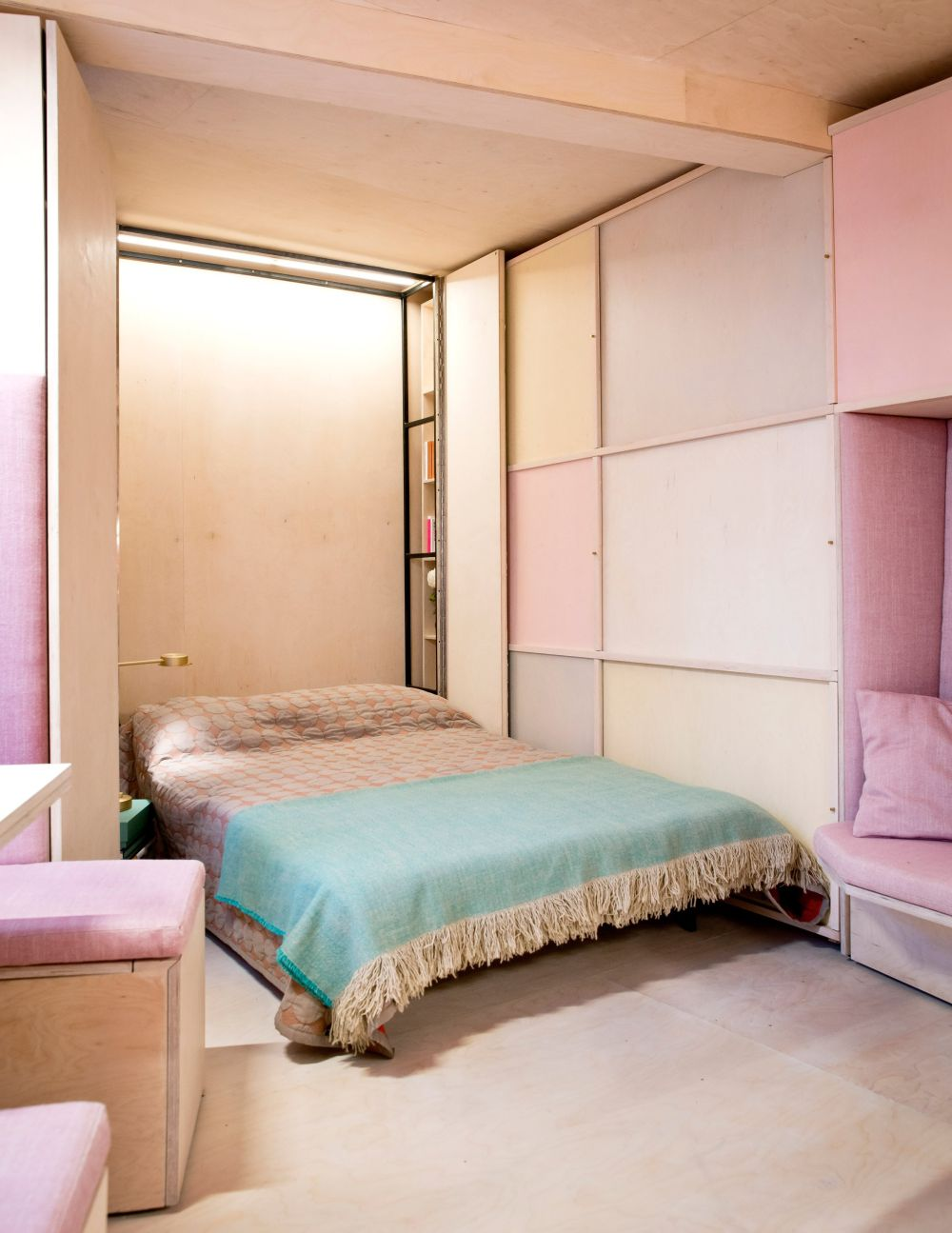 Space saving wall beds that made their way into stylish decors view in gallery amipublicfo Images