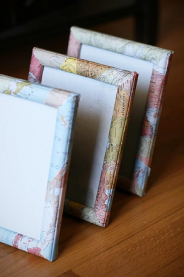 DIY picture frame Travel Map Photo Frames