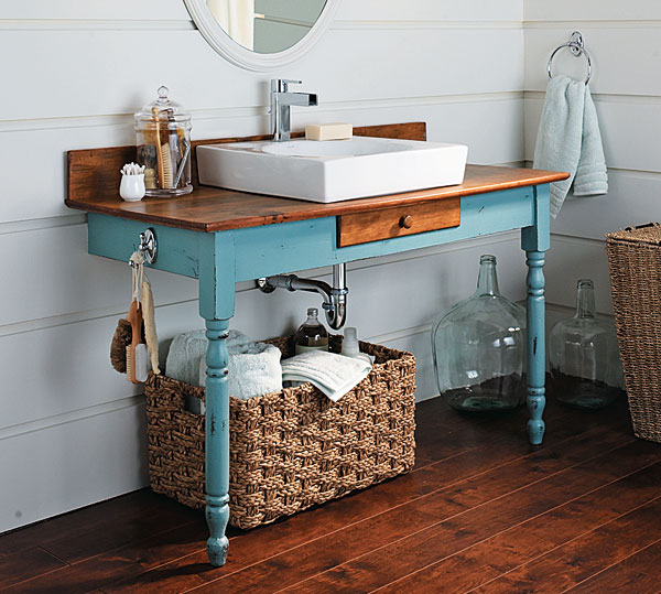 View in gallery. DIY Bathroom Vanity Ideas Perfect For Repurposers