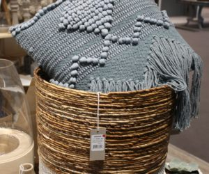 High Quality Two Tone Wicker Baskets