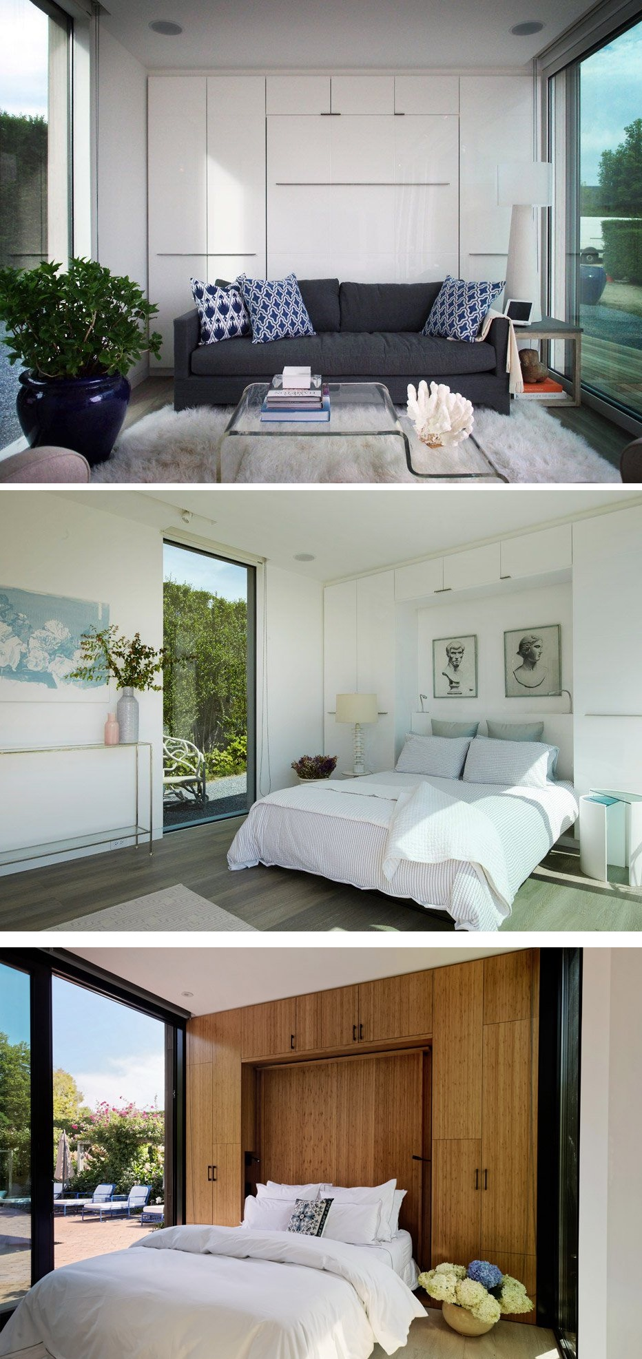 Space saving wall beds that made their way into stylish decors view in gallery wall beds amipublicfo Choice Image