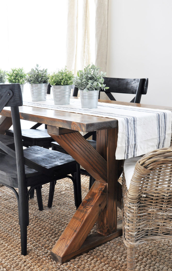 Diy Trestle Tables