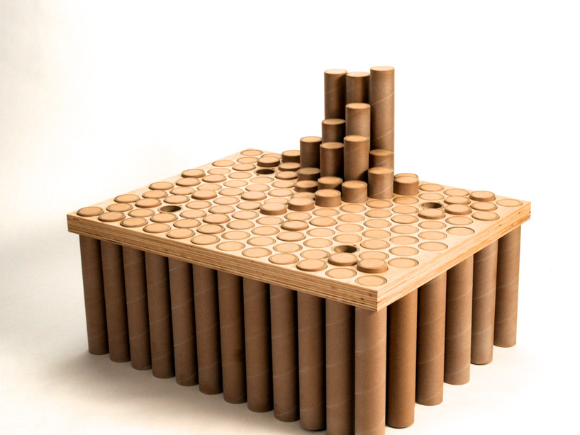 cardboard tube furniture. View In Gallery Cardboard Tube Furniture