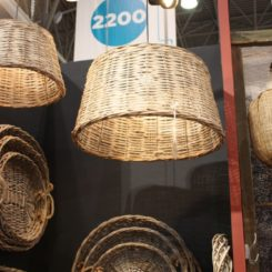 wicker baskets lighting fixtures