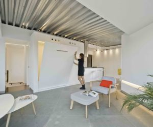 Atypical Attic Apartment In Spain With A Surprisingly Open Interior