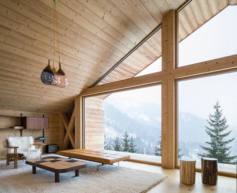 Alpine Mountain Home Shaped By History And Nature