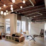 Barcelona workspace - beautiful lighting fixtures