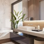 Bathroom design from S&T architects Design a Bright Penthaus in Kiev